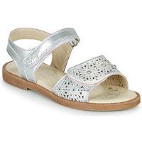 Schuhe Mädchen Sandalen / Sandaletten Primigi MICHELLE Silbern