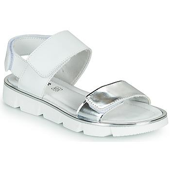 Schuhe Mädchen Sandalen / Sandaletten Primigi ANNA Weiss / Silbern