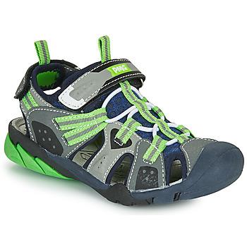 Schuhe Jungen Sportliche Sandalen Primigi ANATI Grau / Grün