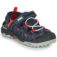 Schuhe Jungen Sportliche Sandalen Primigi ALEX Marine / Schwarz / Rot