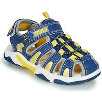 Schuhe Jungen Sportliche Sandalen Primigi ISMAEL Blau / Gelb