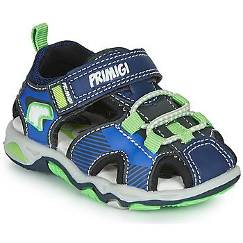 Schuhe Jungen Sportliche Sandalen Primigi DINNO Blau / Grün