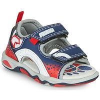 Schuhe Jungen Sandalen / Sandaletten Primigi FRANG Marine / Rot