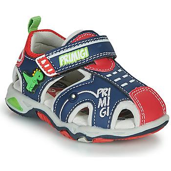 Schuhe Jungen Sportliche Sandalen Primigi ANIS Blau / Rot / Grün