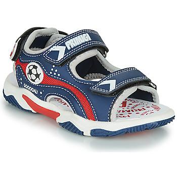 Schuhe Jungen Sandalen / Sandaletten Primigi MATHIS Marine / Rot