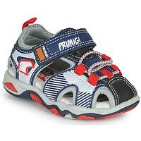 Schuhe Jungen Sportliche Sandalen Primigi HIMAN Grau / Blau / Rot