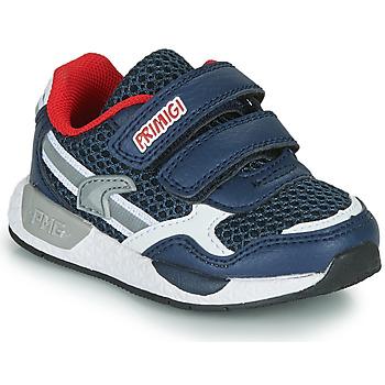 Schuhe Jungen Sneaker Low Primigi PETIT Marine / Rot
