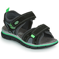 Schuhe Jungen Sandalen / Sandaletten Primigi NOIRA Schwarz / Grün