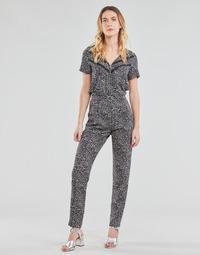 Kleidung Damen Overalls / Latzhosen Ikks BS32005-02 Schwarz
