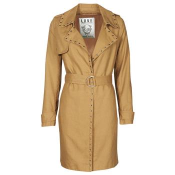 Kleidung Damen Trenchcoats Ikks BS42025-63 Noisette