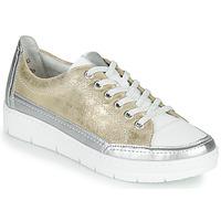 Schuhe Damen Sneaker Low Remonte Dorndorf PHILLA Gold / Silbern