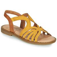 Schuhe Damen Sandalen / Sandaletten Remonte Dorndorf SANDA Gelb / Braun