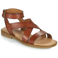 Schuhe Damen Sandalen / Sandaletten Remonte Dorndorf POLLY Braun