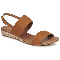 Schuhe Damen Sandalen / Sandaletten Casual Attitude OLIVE Camel