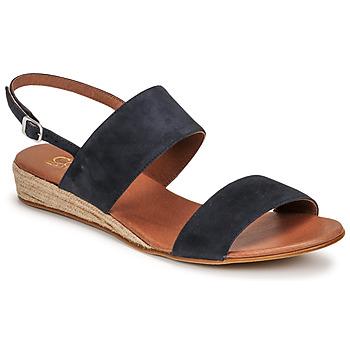 Schuhe Damen Sandalen / Sandaletten Casual Attitude OLIVE Marine