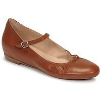 Schuhe Damen Ballerinas Casual Attitude OLIVIA Camel