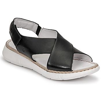 Schuhe Damen Sandalen / Sandaletten Casual Attitude ODILE Schwarz