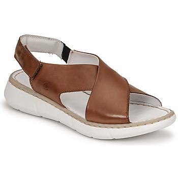 Schuhe Damen Sandalen / Sandaletten Casual Attitude ODILE Camel