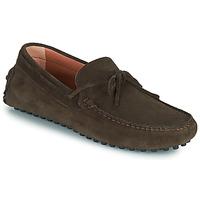 Schuhe Herren Slipper Casual Attitude ODILON Braun