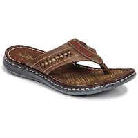 Schuhe Herren Zehensandalen Casual Attitude OPOM Braun