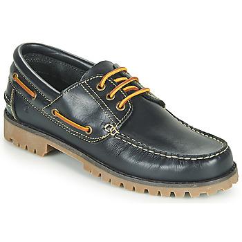 Schuhe Herren Bootsschuhe Casual Attitude EVEROA Marine