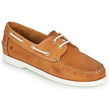 Schuhe Herren Bootsschuhe Casual Attitude REVORO Camel