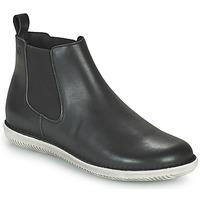Schuhe Damen Boots Casual Attitude ODILETTE Schwarz