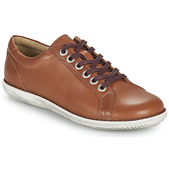 Schuhe Damen Derby-Schuhe Casual Attitude OULETTE Camel