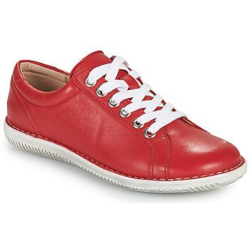 Schuhe Damen Derby-Schuhe Casual Attitude OULETTE Rot