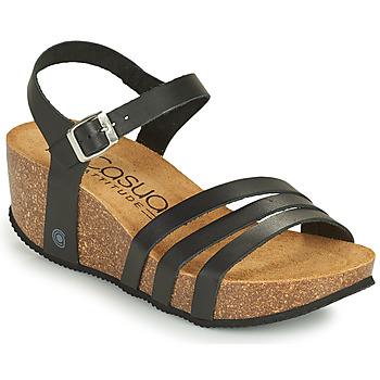 Schuhe Damen Sandalen / Sandaletten Casual Attitude OUDINE Schwarz
