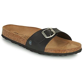 Schuhe Damen Pantoffel Casual Attitude OVOA Schwarz