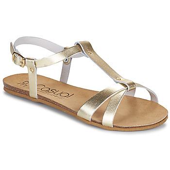 Schuhe Damen Sandalen / Sandaletten Casual Attitude JALIYAXE Gold