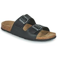 Schuhe Herren Pantoffel Casual Attitude OMAO Schwarz