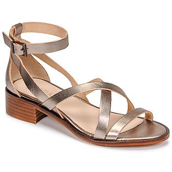 Schuhe Damen Sandalen / Sandaletten Casual Attitude COUTIL Bronze