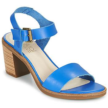 Schuhe Damen Sandalen / Sandaletten Casual Attitude CAILLE Blau