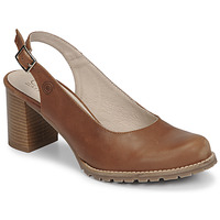 Schuhe Damen Pumps Casual Attitude OLEA Camel