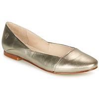Schuhe Damen Ballerinas Casual Attitude TOBALO Bronze