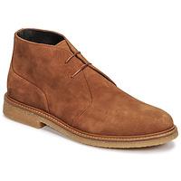 Schuhe Herren Boots Casual Attitude NETOINE Braun