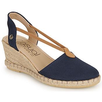 Schuhe Damen Sandalen / Sandaletten Casual Attitude IPOP Marine