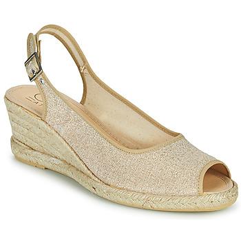 Schuhe Damen Sandalen / Sandaletten Casual Attitude MADELEINE Gold