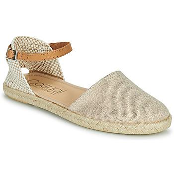 Schuhe Damen Sandalen / Sandaletten Casual Attitude ONINA Gold