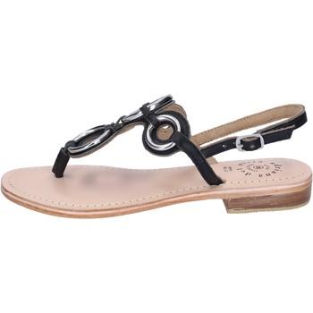Schuhe Damen Sandalen / Sandaletten Adriana Del Nista Sandalen Leder Schwarz