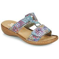 Schuhe Damen Pantoffel Rieker FOUNNA Multicolor