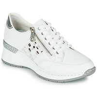 Schuhe Damen Sneaker Low Rieker GRAMI Weiss