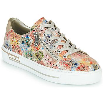 Schuhe Damen Sneaker Low Rieker FROLLI Multicolor