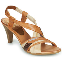 Schuhe Damen Sandalen / Sandaletten Betty London POULOI Cognac