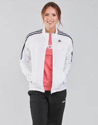 Kleidung Damen Trainingsjacken adidas Performance MARATHON JKT W Weiss