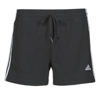 Kleidung Damen Shorts / Bermudas adidas Performance W 3S SJ SHO Schwarz