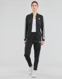Kleidung Damen Jogginganzüge adidas Performance W 3S TR TS Schwarz