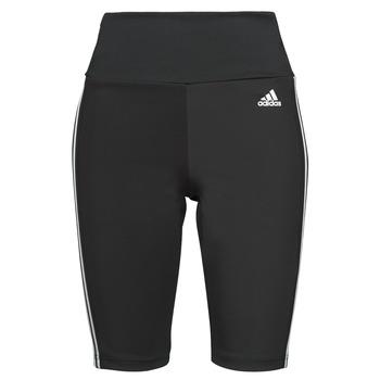Kleidung Damen Leggings adidas Performance W 3S SH TIG Schwarz
